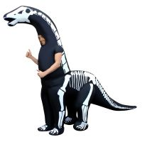 Giant Skeleton Dipolodocus Inflatable Costume