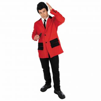 Mens 50s Red Icon Suit Costume