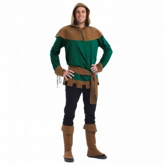 Mens Sherwood Forest Thief Costume