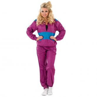 Womens Shell Suit Costume