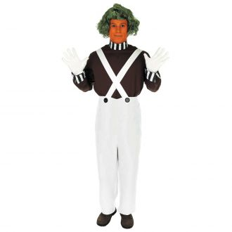 Mens Chocolate Factory Worker Costume