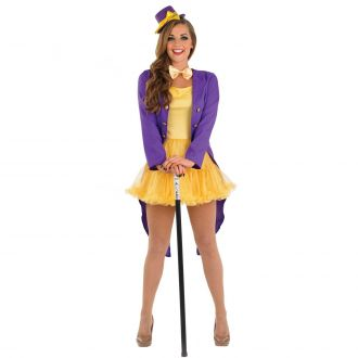 Womens Chocolate Factory Owner Costume