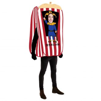 Mens Punch and Judy Costume