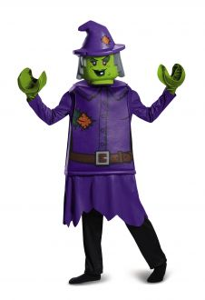 Kids Deluxe Lego Witch Costume