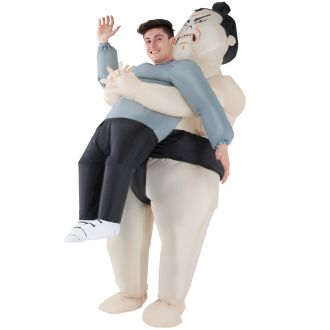 Sumo Pick Me Up Inflatable Costume